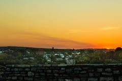 Orange Sky Royalty Free Stock Photography