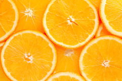 Orange slice. Fresh juicy orange slice background Royalty Free Stock Image