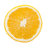 Orange slice Stock Photo