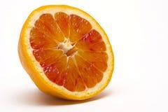 Orange slice. Blood orange  slice isolated on white background Stock Photography