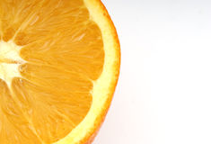 Orange Slice. Photo of a Sliced Orange Stock Photo