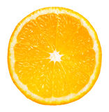 Orange slice. Fresh juicy slice of orange Royalty Free Stock Photo
