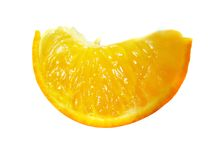 Orange slice. Series of Oranges being sliced royalty free stock photography