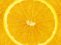Orange Slice Background Royalty Free Stock Photos
