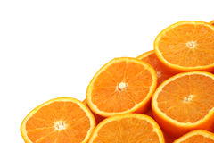 Orange slice background Stock Photography