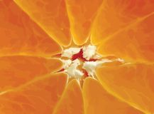 orange slice background Stock Photos