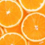Orange slice background Stock Photography