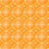 Orange slice background with transparent top layer.  stock image