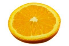 Orange slice Close up Stock Photos