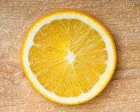 Orange slice closeup Royalty Free Stock Photos