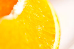 Orange Slice Detail Royalty Free Stock Images