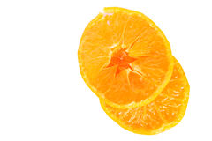 Orange slice for healthy food Royalty Free Stock Photography