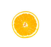 Orange slice isolate on white with work path Royalty Free Stock Image