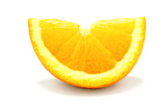 Orange slice isolated Stock Photos