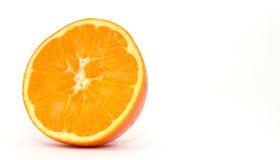 Orange slice isolated on white Stock Photography