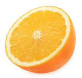 Orange slice isolated on white Stock Photography
