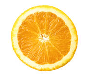 Orange slice isolated on white Stock Images