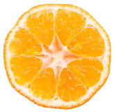 Orange Slice Isolated Royalty Free Stock Photography