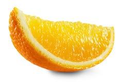 Orange slice isolated on the white background Stock Images