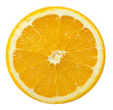 Orange slice isolated on a white background Royalty Free Stock Photography