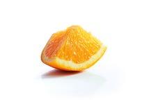 Orange slice. Isolated on white background Stock Image