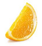 Orange slice isolated on the white background Royalty Free Stock Image