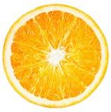 Orange slice isolated on the white background Royalty Free Stock Photo
