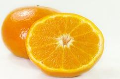 Orange slice isolated Royalty Free Stock Photos
