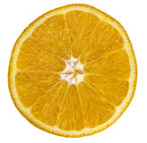 Orange slice over white Stock Photography