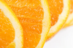 Orange slice texture Stock Image