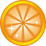 Orange slice (Vector) Stock Photo