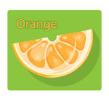 Orange slice Stock Photography