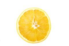 Orange Slice on White Background Stock Images