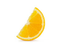 Orange slice. On white background Royalty Free Stock Photos