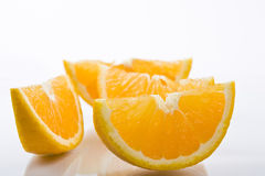Orange sliced Royalty Free Stock Image