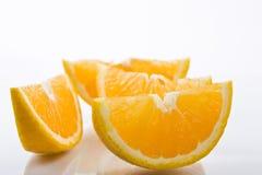 Orange sliced Royalty Free Stock Image