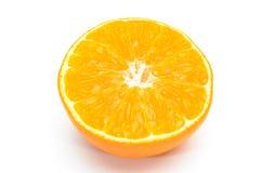 Orange sliced on background Royalty Free Stock Image