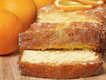 Orange sliced bread Stock Photography