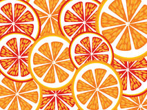 Orange slices Stock Images
