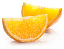 Orange slices. Stock Image