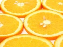 Orange Slices. Background Stock Photography