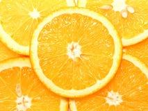 Orange Slices. Background royalty free stock photos