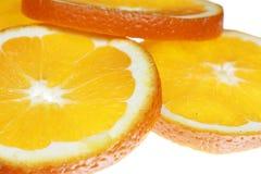 Orange slices Royalty Free Stock Photos