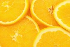Orange Slices. Freshly cut juicy orange slices Stock Image