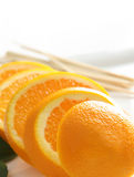 Orange slices Royalty Free Stock Image