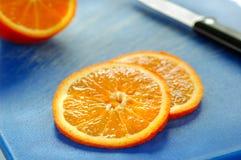 Orange slices. Close up of orange slices Stock Image