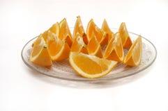 Orange slices. It is isolated, cut orange slices Stock Photo