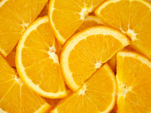 Orange slices as background texture Royalty Free Stock Photos