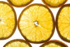Orange slices Stock Photos