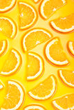 Orange slices background Stock Photos